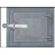 A5 - čuguna durvis 285x245mm