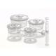Caso vakuuma konteineri / apaļi / kompektā rokas pumpis