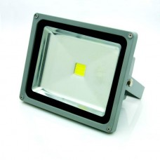 SUPERAKCIJA !!! 30W LED FLOODLIGHT BASIC LINE IP65 prožektors, silti balta gaisma 3000K