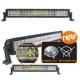 LED CREE 120W (8600Lm) 9-30V, 6500K, IP67, kombinēts stars, 56cm, darba lukturis ar 5D lēcu