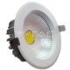 18W LED COB Downlight Reflector White Body - Warm White iebūvējamais gaismeklis