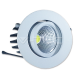 3W LED Downlight COB Round - White Body Warm White iebūvējamais gaismeklis