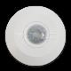 LED 2000W Infrasarkanais kustības sensors, griestu, regulējams laiks un LUX, balts
