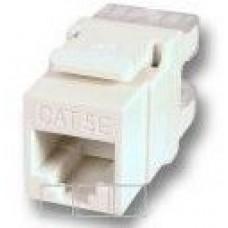 RJ45 CAT5 UTP mehānisms / keystone module / ligzda